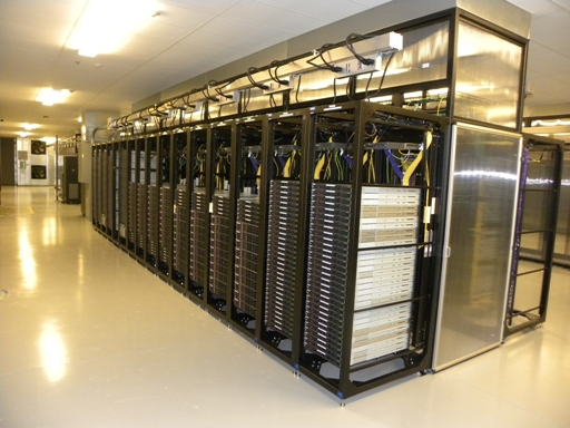Data Center Row Cooling with Apron - from POWERandDATA.info